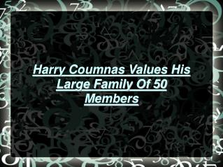 About Harry Coumnas