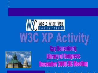 W3C XP Activity