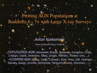 Probing AGN Populations at Redshifts 6 - 7+ with Large X-ray Surveys