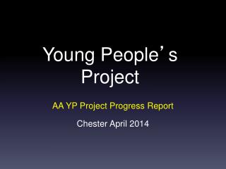 Young People ' s Project