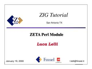 ZIG Tutorial San Antonio TX