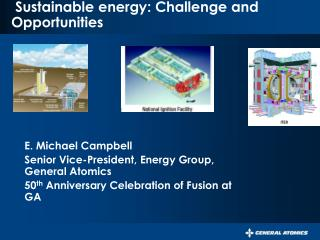 Sustainable energy: Challenge and Opportunities