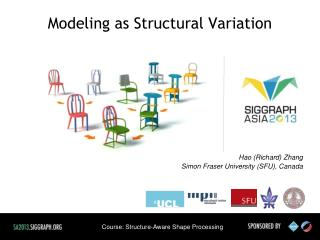 Modeling as Structural Variation