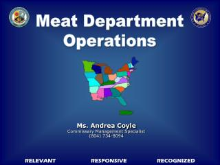 Meat Department Operations