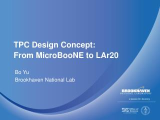 TPC Design Concept: From MicroBooNE to LAr20