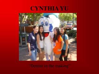 CYNTHIA YU
