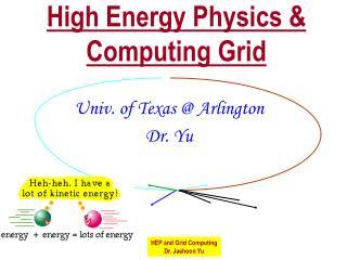High Energy Physics & Computing Grid