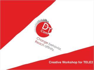 Creative Workshop for TELE2
