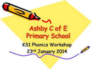 Ashby C of E Primary School