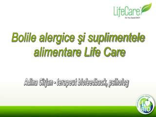 Bolile alergice şi suplimentele  alimentare Life Care