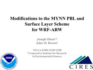 Background on Mellor-Yamada- Nakanishi-Niino (MYNN) PBL Scheme