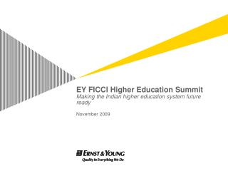 Higher education financing Background