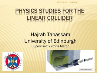 Physics studies FOR the  Linear Collider