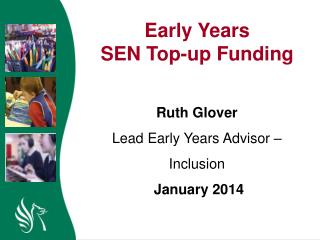 Early Years  SEN Top-up Funding