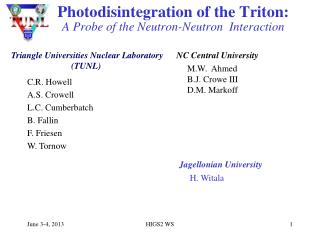 Photodisintegration of the Triton:   A Probe of the Neutron-Neutron  Interaction