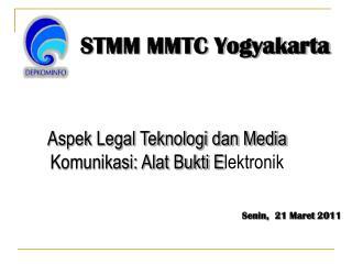 Aspek Legal Teknologi dan Media Komunikasi: Alat Bukti E lektronik