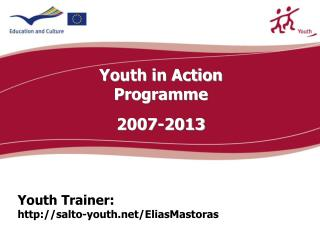 Youth Trainer:  salto-youth/EliasMastoras