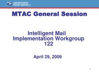 MTAC General Session