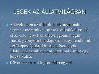 LEGEK AZ  LLATVIL GBAN