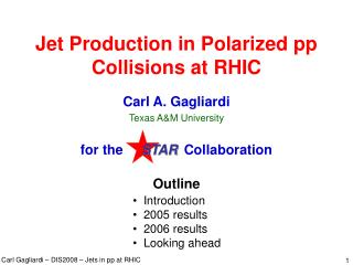 Jet Production in Polarized pp Collisions at RHIC
