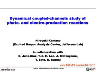 Dynamical coupled-channels study of photo- and electro-production reactions