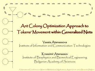 Ant Colony Optimization Approach to Tokens' Movement within Generalized Nets