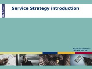 Service Strategy introduction