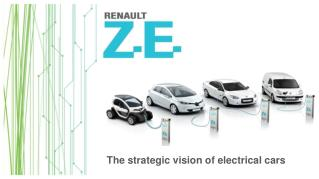 The strategic vision of electrical cars