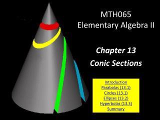 MTH065 Elementary Algebra II