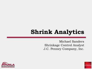 Shrink Analytics