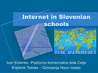 Internet in Slovenian schools