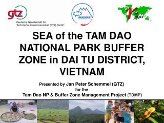 SEA of the TAM DAO NATIONAL PARK BUFFER ZONE in DAI TU DISTRICT, VIETNAM