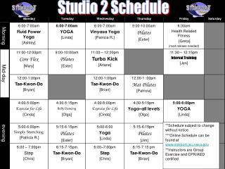 6:00-7:00am Fluid Power Yoga