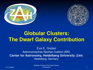Globular Clusters: The Dwarf Galaxy Contribution