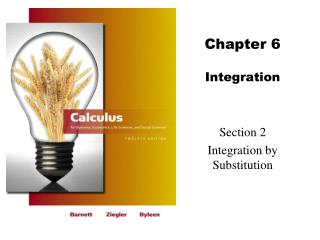 Chapter 6 Integration