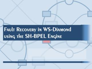 Fault Recovery in WS-Diamond using the SH-BPEL Engine