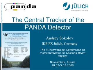 The Central Tracker of the P ANDA  Detector