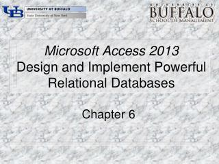 Microsoft Access 2013 Design and Implement Powerful Relational Databases