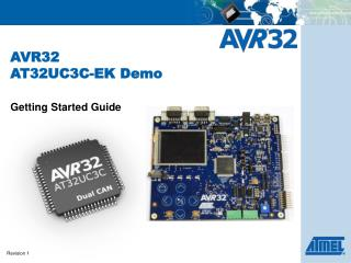AVR32  AT32UC3C-EK Demo
