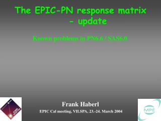 The EPIC-PN response matrix - update
