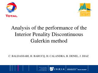 Analysis of the performance of the Interior Penality Discontinuous Galerkin method