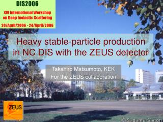 Heavy stable-particle production        in NC DIS with the ZEUS detector