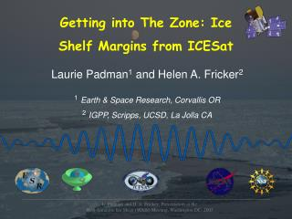 Getting into The Zone: Ice  Shelf Margins from ICESat