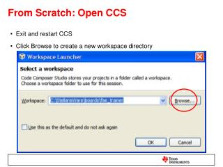 From Scratch: Open CCS