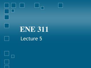 ENE 311