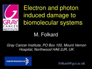 Electron and photon induced damage to biomolecular systems