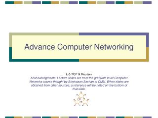 Advance Computer Networking