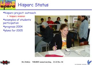 Hisparc Status
