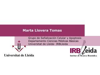 Marta Llovera Tomas