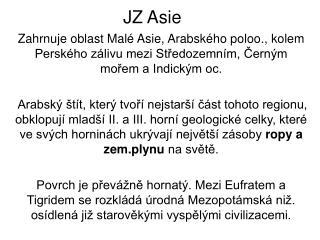 JZ Asie
